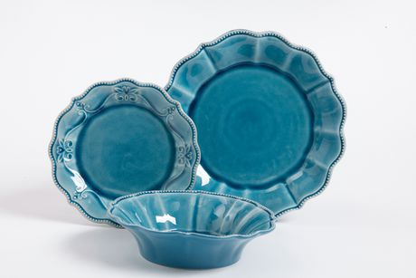 The Pioneer Woman Paige 12-Piece Crackle Glaze Dinnerware Set | Walmart Canada & The Pioneer Woman Paige 12-Piece Crackle Glaze Dinnerware Set ...