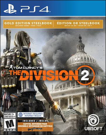 Tom Clancy's The Division 2 Gold Steelbook Edition (PS4