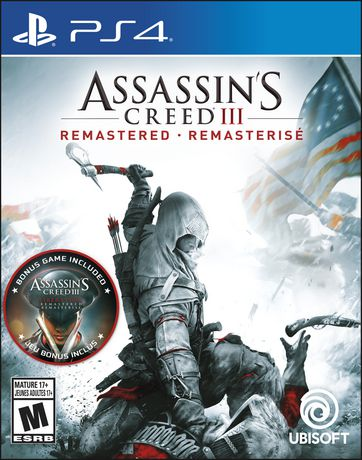 Assassin's Creed III: Remastered  (Playstation 4) - image 1 de 6