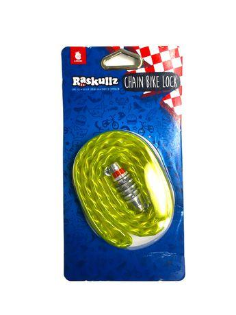 Raskullz Bike Riderz Chain Lock - image 1 of 1