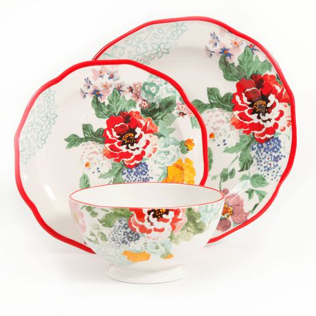 The Pioneer Woman Country Garden 12-Piece Decorated ...