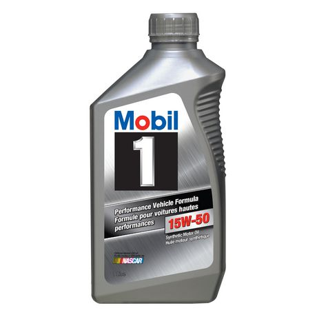 Mobil 1 Performance Vehicle Formula, Synthetic Motor Oil, 15W-50 - image 2 of 2