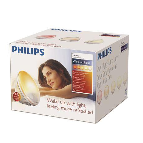 PHILIPS Wake-Up Light with Coloured Sunrise Simulation HF3520/60 - image 3 of 8