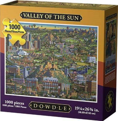 Dowdle Americana Art Valley of The Sun Jigsaw Puzzle - image 1 of 3