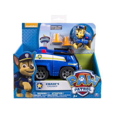 PAW Patrol Chase Cruiser Toy Vehicle