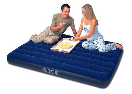 lit 2 places classic downy airbed d 39 intex walmart canada. Black Bedroom Furniture Sets. Home Design Ideas