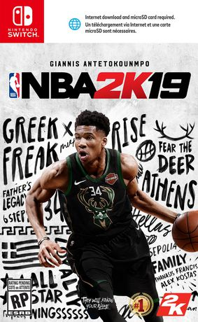 NBA 2K19 for Nintendo Switch - image 1 of 5