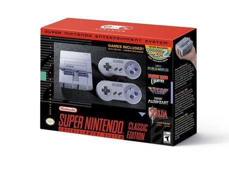 Snes Classic Super Nintendo Entertainment System