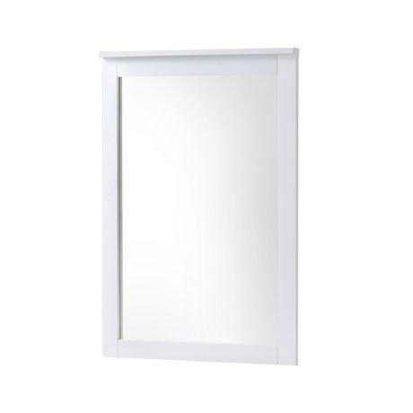 Corliving miroir ashland pour commode blanc d hiver for Miroir walmart