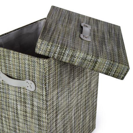 Truu Design, Ensemble de paniers de rangement, rectangulaire, Vert - image 4 de 6