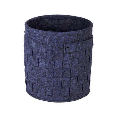 Truu Design, Ensemble de paniers de rangement, rond en feutre, Vert foncé - image 6 de 7