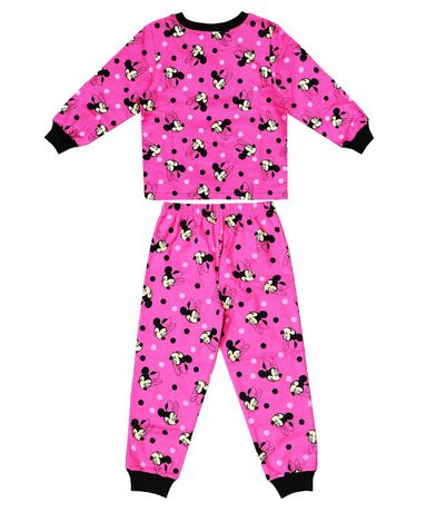 30eef92961cb Disney Minnie Mouse Two Piece Pyjama Set for Girls - image 1 of 1 ...