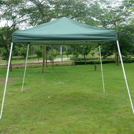 Outsunny 10x10ft Easy Pop Up Party Tent Walmart Canada