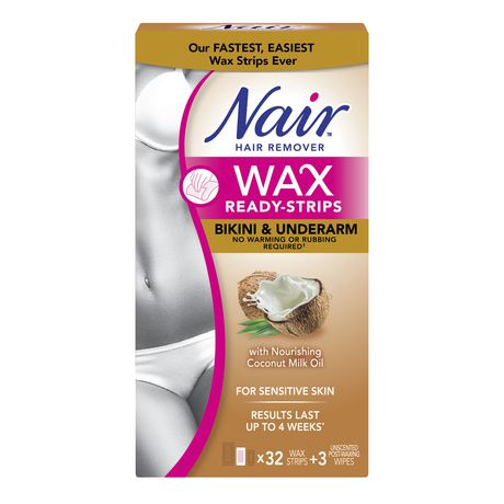 Nair Wax Ready Strips for Sensitive Skin with Coconut Milk Oil - image 1 of 1