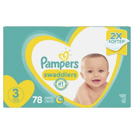 7ea802817e6a Pampers Swaddlers Diapers - Super Pack