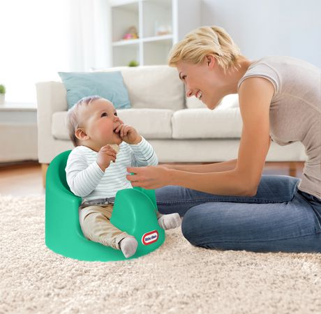 Little Tikes My First Seat Baby Infant Foam Floor Seat - Teal - image 8 of 9