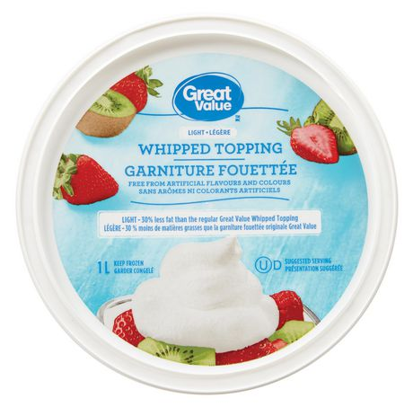 Great Value Light Whipped Topping - image 1 of 3