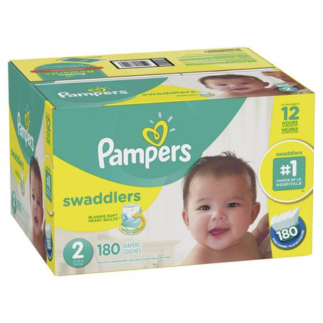 Pampers Swaddlers Diapers - Econo Plus Pack - image 3 of 7