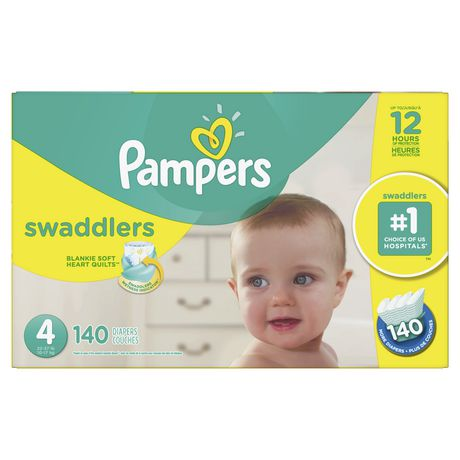 Pampers Swaddlers Diapers - Econo Plus Pack - image 1 of 7