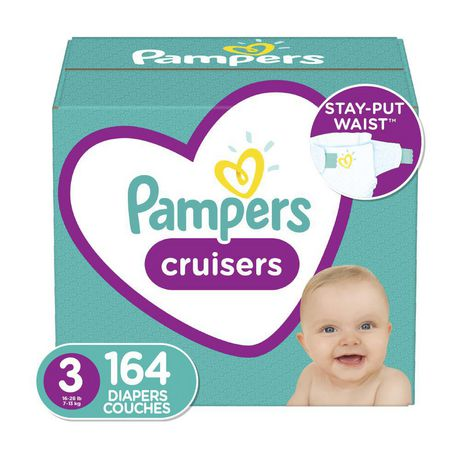 Pampers Cruisers Diapers - Econo Plus Pack - image 1 of 4