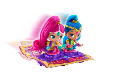 Fisher Price Shimmer And Shine Magic Flying Carpet Doll