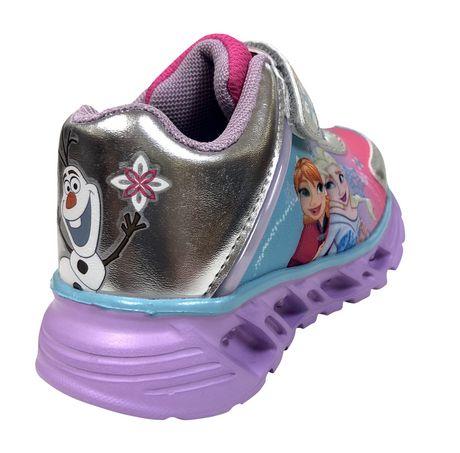 Chaussures de sport Frozen avec lumières pour bambines - image 3 de 4