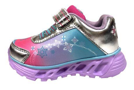 Chaussures de sport Frozen avec lumières pour bambines - image 4 de 4