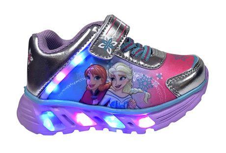 Chaussures de sport Frozen avec lumières pour bambines - image 1 de 4