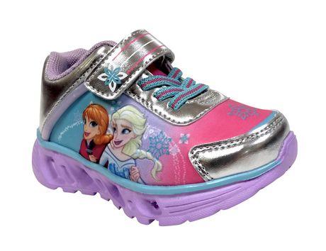 Chaussures de sport Frozen avec lumières pour bambines - image 2 de 4