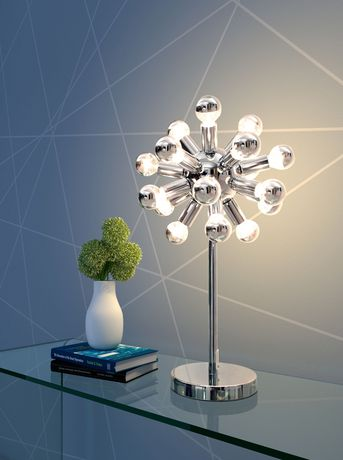 Zuo Pulsar Table Lamp - Chrome (50007) - image 3 of 3