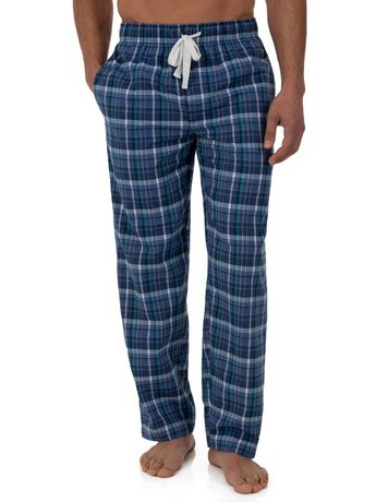 Fruit of the Loom Breathable Mesh Top Woven Pant Sleep Set Blue - image 5 of 6