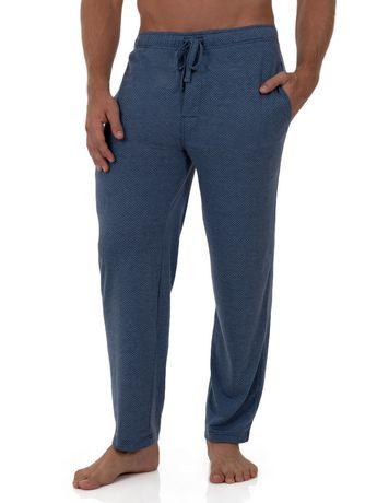 Fruit of the Loom Breathable Mesh Sleep Pant Blue - image 4 of 4