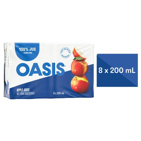 Oasis Classic Pure Apple Juice Not from concentrate - image 1 of 4