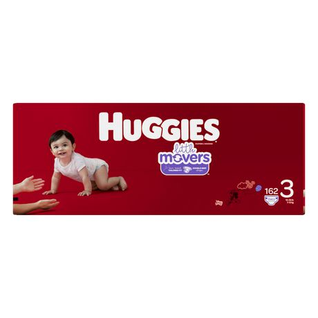 Couches HUGGIES Little Movers, Emballage Econo - image 2 de 4