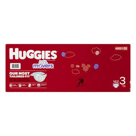 Couches HUGGIES Little Movers, Emballage Econo - image 3 de 4