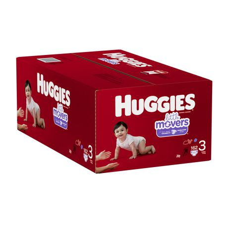 Couches HUGGIES Little Movers, Emballage Econo - image 4 de 4