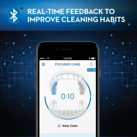 Oral-B Genius 8000 Electric Rechargeable Toothbrush Powered by Braun - image 2 of 9