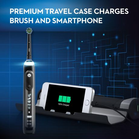 Oral-B Genius 8000 Electric Rechargeable Toothbrush Powered by Braun - image 4 of 9