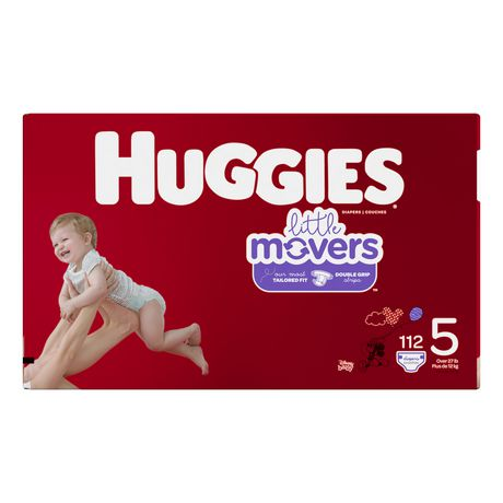 HUGGIES Little Movers Diapers, Mega Colossal Pack - image 2 of 4