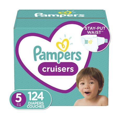 Pampers Cruisers Diapers - Econo Plus Pack - image 1 of 9