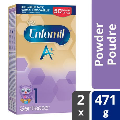 Enfamil A+ Gentlease® Baby Formula, Powder Refill - image 1 of 4