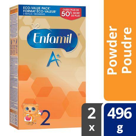 Enfamil A+® 2 Baby Formula, Powder Refill - image 1 of 4