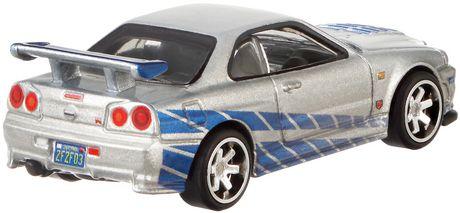 Hot Wheels Fast & Furious Nissan Skyline GTR R34 Vehicle - image 3 of 3