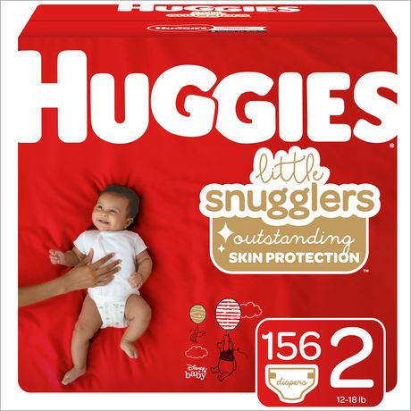 Huggies Little Snugglers Baby Diapers, Mega Colossal Pack - image 1 of 4