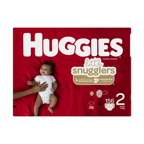 Huggies Little Snugglers Baby Diapers, Mega Colossal Pack - image 2 of 4