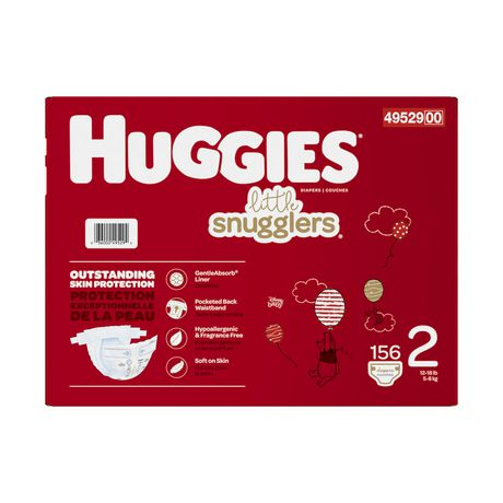 Huggies Little Snugglers Baby Diapers, Mega Colossal Pack - image 3 of 4