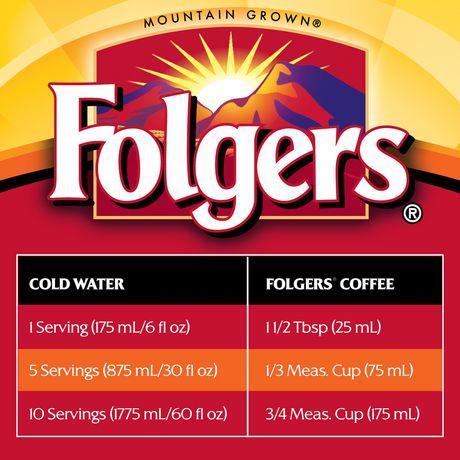 Folgers Classic Roast Ground Coffee 920g - image 7 of 9