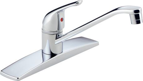 Peerless® Chrome Single Handle Kitchen Faucet | Walmart Canada