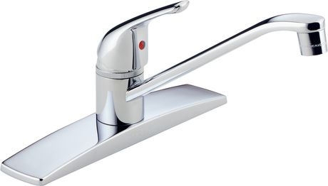 Peerless® Chrome Single Handle Kitchen Faucet