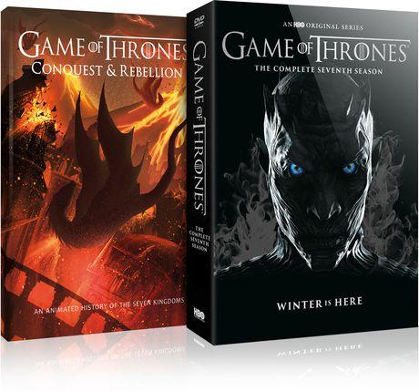 Game Of Thrones: The Complete Seventh Season (DVD + Conquest & Rebellion) (Bilingue) - image 1 de 1